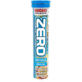 High5 Electrolyte Drink Zero - Nutrition sport - Tropical 20 Tabs bleu/blanc